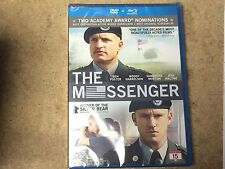 * NEW Blu-Ray + DVD Film * THE MESSENGER BLU RAY + DVD in DVD case *