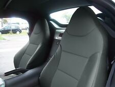PONTIAC SOLSTICE 2006-2009 CHARCOAL S.LEATHER CUSTOM MADE FIT FRONT SEAT COVER