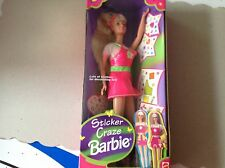 Sticker Craze Barbie-1997