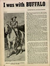 I was with Buffalo Bill +Baker,Bonheur,Buntline,Charging Horse,Cheyenne,Cody