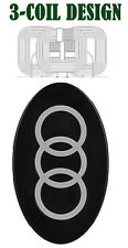 BLACK G300 3-COIL Qi WIRELESS INDUCTION CHARGER CHARGING PAD FOR CELL PHONE