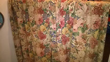 """Sanderson Peony and Rose Curtains 64"""" X 64"""""""