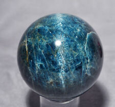 Apatite - 3.13 ich 1.8 lb Cat's Eye Apatite Natural Crystal Sphere - Brazil