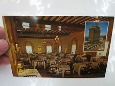 BATTERY PARK HOTEL RESTAURANT DINING ROOM POSTCARD ASHEVILLE N.C.