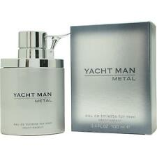 Yacht Man Metal by Myrurgia EDT Spray 3.4 oz