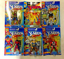 1994 TOY BIZ X-MEN X-FORCE SERIES 3 COMPLETE 6 FIGURE SET CABLE SUNSPOT PYRO D55