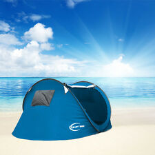 Camping Tent Automatic Pop Up Quick Shelter Outdoor Hiking Waterproof 3-4 Person