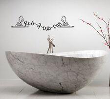 RUB-A-DUB-DUB TUB DUCK LETTERING BATH WORDS BATHROOM VINYL DECOR DECAL WALL KIDS