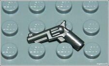 Lego Cowboy x1 Gray Revolver City Pistol Gun Soldier Weapon Minifigure NEW
