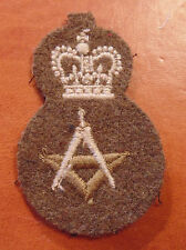 QC khaki Canadian Armed Forces Drafting technician trade qualification badge 3