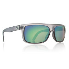 Dragon Alliance Wormser Sunglasses Matte Gray Frames Green Ion Lenses