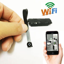 personal wireless WIFI IP Spy Nanny CAM Pinhole mini black screw camera DVR