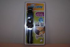 Pets at Play Light-Up Dog Collar New in Pack Collar Lights Up & Flashes for Dogs