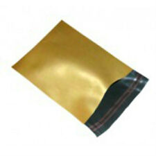 "10 Gold 17""x24"" Mailing Postage Postal Mail Bags"