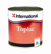 International Toplac narrow boat and yacht exterior paint -MEDITERRANEAN WHITE