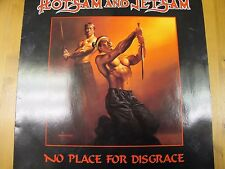 "RR 9549 NETHERLANDS 12"" 33RPM 1988 FLOTSAM & JETSAM ""NO PLACE FOR DISCGRACE"" EX"