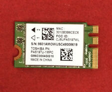 TOSHIBA SATELLITE L55-B5276 BLUETOOTH WIFI CARD PA5197U-1MPC A000300110