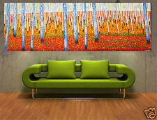 210CM BY 70CM ABORIGINAL ART PAINTING  CANVAS LARGE MADE TO ORDER