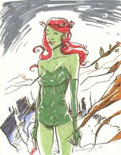 Poison Ivy Color Commission - 2005 Signed art by Evan Bryce