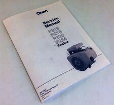 ONAN ENGINE 16 18 20 24 HP SERVICE REPAIR OVERHAUL MANUAL