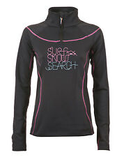 RIP CURL ULTIMATE GUM FLEECE MID LAYER BLACK WOMEN'S  - SALE