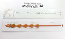 Genuine Italian Made Cruciani Bracelet-STARFISH- ORANGE