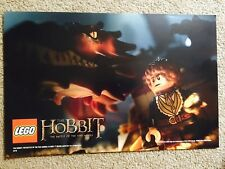 "THE HOBBIT Battle of the Five Armies Poster Comic Con Exclusive 11"" X 17"" LEGO"