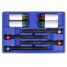 Astro 8pc Torque Limiting Extension And Protective Impact Socket Combo Set 78818