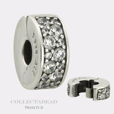 Authentic Pandora Sterling Silver Shining Elegance Clear CZ Clip 791817CZ