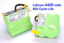 2X 4400mAh Replacement Lithium Li-Ion SUPER LONGLIFE Battery for Neato XV-12