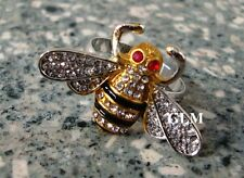 Feng Shui = 2016 Worker Bee Ring for Career Enhancement (Red Eyes) Size 7