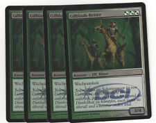 Magic the Gathering 107 Gilblaub-Reiter Gateway Promo Foil DEUTSCH Playset (4)