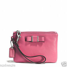 Coach Wristlet F51672 DARCY BOW SMALL STRAWBERRY Agsbeagle #COD Paypal