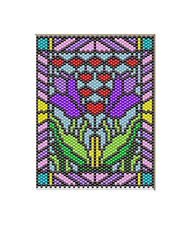 Tulips~Beaded Banner Pattern Only