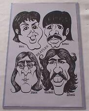 The Beatles Caricature Artwork Print 11 X 17  Poster & Sleeve Paul McCartney