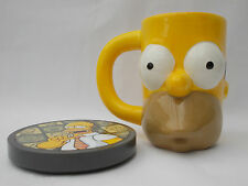 HOMER SIMPSONS MUG AND TALKING COASTER