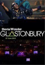 STEVIE WONDER GLASTONBURY 27 JUNE 2010 - 90 MINUTE LIVE FESTIVAL CONCERT DVD