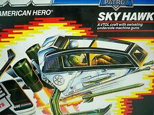 D0505221 SKY HAWK PATROL MIB STYLE PARTS ON TREES 100% COMPLETE MINTY DECALS BP