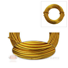 18 Gauge Gold Jewelry Making Wrapping Craft Aluminum Wire 39 Feet