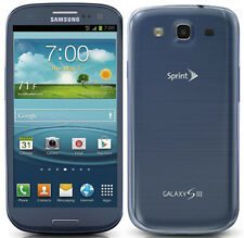 New Samsung Galaxy S3 L710 Sprint 16GB LTE 4G Android Smartphone Blue