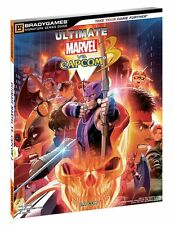Ultimate Marvel vs Capcom Brady Games Strategy Guide - PlayStation 3 - Xbox 360