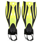New Kids Dive Snorkeling Swimming Scuba Fins Flippers Shoes Open Heel Size S M