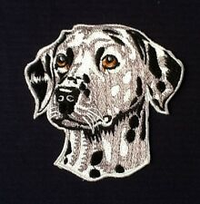 DALMATION 101 RETRIEVER CRUFFS PET SPOTTY DOG SHOW BREED BADGE IRON SEW ON PATCH