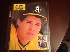 Beckett Baseball Magazine Oct 1990 Issue #67 Jose Canseco On Cover