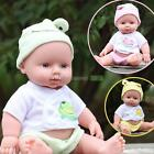 Realistic Baby Doll Girl Newborn Lifelike Vinyl Reborn Doll Baby Kids Toys Gifts