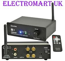 BLUETOOTH DIGITAL STEREO AMP AMPLIFIER 150W REMOTE CONTROL LINE INPUT