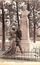 France Paris - Monument de Benjamin Godard old unused postcard