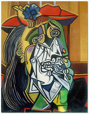 The Weeping Woman - Pablo Picasso Art Hand Painted Cubism Oil Painting On Canvas
