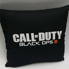 Call of duty black ops 3 III Coussin Oreiller logo autocollant jeu PS4 Xbox One 360