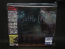 JUDAS PRIEST Battle Cry BSCD2 DELUXE EDITION JAPAN CD + DVD (+ 3 Bonus Tracks)